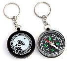 Compass Keychains, Compass Keyring