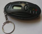 Alcohol Test Keychains, Alcohol Test Keyring
